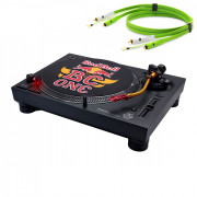 View and buy Technics SL 1210 MK7R with Neo RCA Turntable Cable online