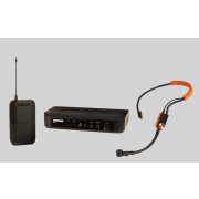 View and buy Shure BLX14UK-SM31 Blx14 Wireless Bodypack System With Sm31 Fitness Headset online
