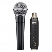 View and buy SHURE SM58 microphone & X2U USB signal adapter bundle online