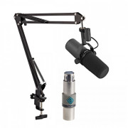 View and buy Shure SM7B with FetHead & Studio Arm online