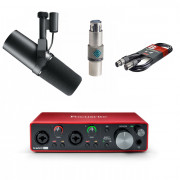 View and buy Shure SM7B with FetHead + Scarlett 2i2 online