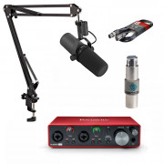 View and buy Shure SM7B with FetHead + Scarlett 2i2 + Studio Arm online