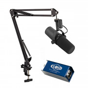 View and buy Shure SM7B with Cloudlifter & Studio Arm online