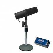 View and buy Shure SM7B with Cloudlifter CL-1 & Desktop Stand online