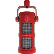 View and buy Sontronics Podcast Pro Microphone Red online