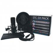 Buy the Sontronics STC-3X PACK BLACK online