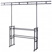 View and buy Equinox 4ft Pro disco stand with twin bar overhead (STAN12A) online