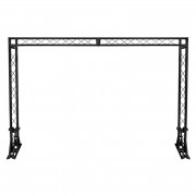 View and buy EQUINOX 3 x 2m Truss System  - Black (STAN90) online
