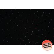 View and buy LEDJ PRO 6 x 3m Tri LED Black Starcloth ( STAR11 ) online