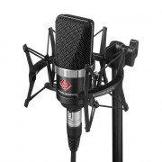 View and buy NEUMANN TLM102 Studio Set (Inc. Shockmount) - Black online