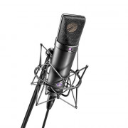 View and buy NEUMANN U87 Ai MT Studio Set (Inc. EA87 Shockmount) - Black online