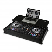 View and buy UDG Ultimate Flight Case Pioneer DDJ-RZ/SZ/SZ2 (Laptop Shelf + Wheels) online