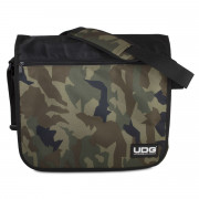 View and buy UDG Ultimate CourierBag Black Camo Orange U9450BCOR online