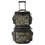 View and buy UDG Ultimate SlingBag Trolley Set DeLuxe Black Camo Orange U9679BCOR online