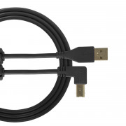 View and buy UDG USB Cable A-B 2m Black Angled U95005BL online