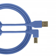 View and buy UDG USB Cable A-B 3m Blue Angled U95006LB online