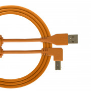 View and buy UDG USB Cable A-B 1m Orange Angled U95004OR online