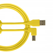 View and buy UDG USB Cable A-B 1m Yellow Angled U95004YL online