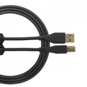View and buy UDG USB Cable A-B 1m Black U95001BL online