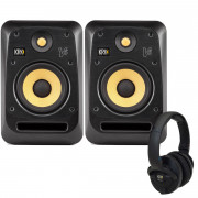 View and buy KRK V6S4 Studio Monitors with KNS6400 Headphones online