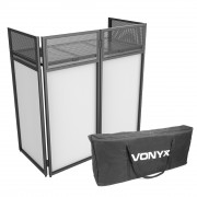 View and buy Vonyx DB4 Foldable DJ Booth Stand With Case online