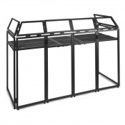 View and buy Vonyx DB5 Pro Collapsible DJ Booth System online