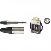 View and buy Stagg XAC3PSXM 3M Balanced Jack - XLR (male) Neutrik Cable online