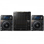 View and buy Pioneer XDJ-1000MK2 + DJM-V10 Package online