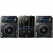 View and buy Pioneer 2 x XDJ1000MK2 + DJM-S3 Bundle online
