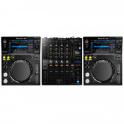 View and buy Pioneer 2 x XDJ700 DJM750MK2 Bundle online