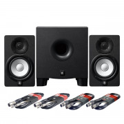View and buy Yamaha HS5 Studio Monitors + HS8S Subwoofer + Cables online