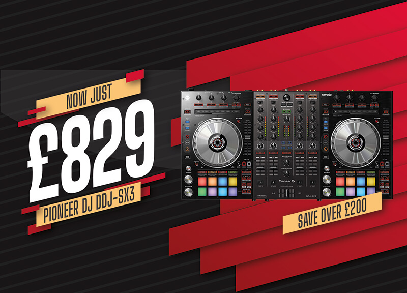 Pioneer DDJ-SX3 Now Just £865