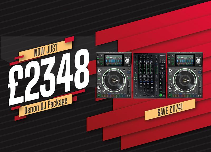 Denon DJ SC5000M and X1800 Bundle Save £1174