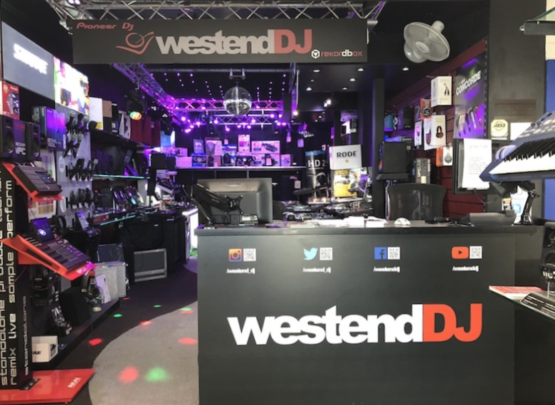 WestendD north london DJ shop