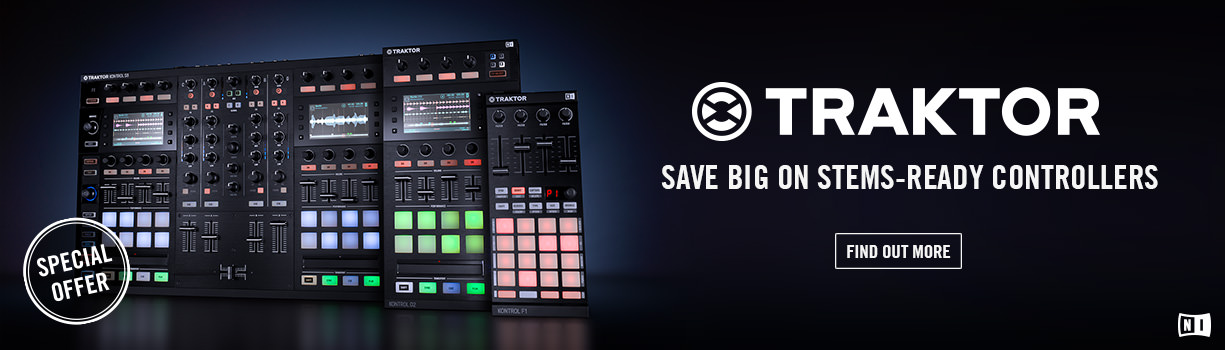 Stems controllers from Native Instruments