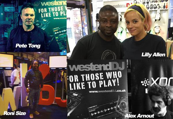Westend DJ -Celebrity DJs