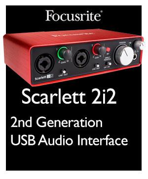 scarlett 2i2