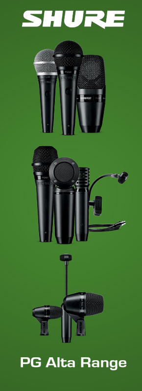 shure pg alta microphone