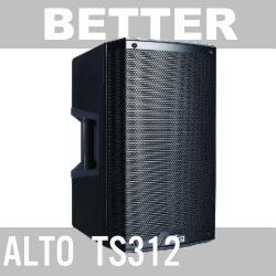 better PA speaker alto ts312
