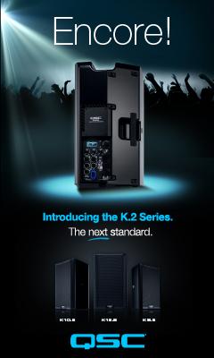 QSC K.2 speakers